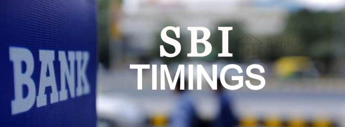 What are SBI bank Timings?