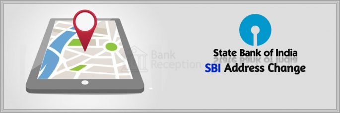 Change Address in SBI - Bank Reception