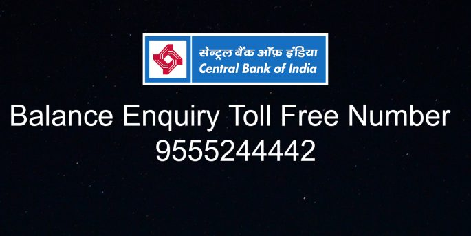 Central bank of india bank balance enquiry