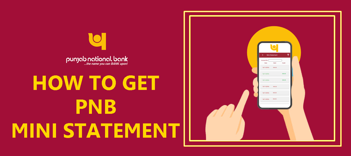 PNB mini statement