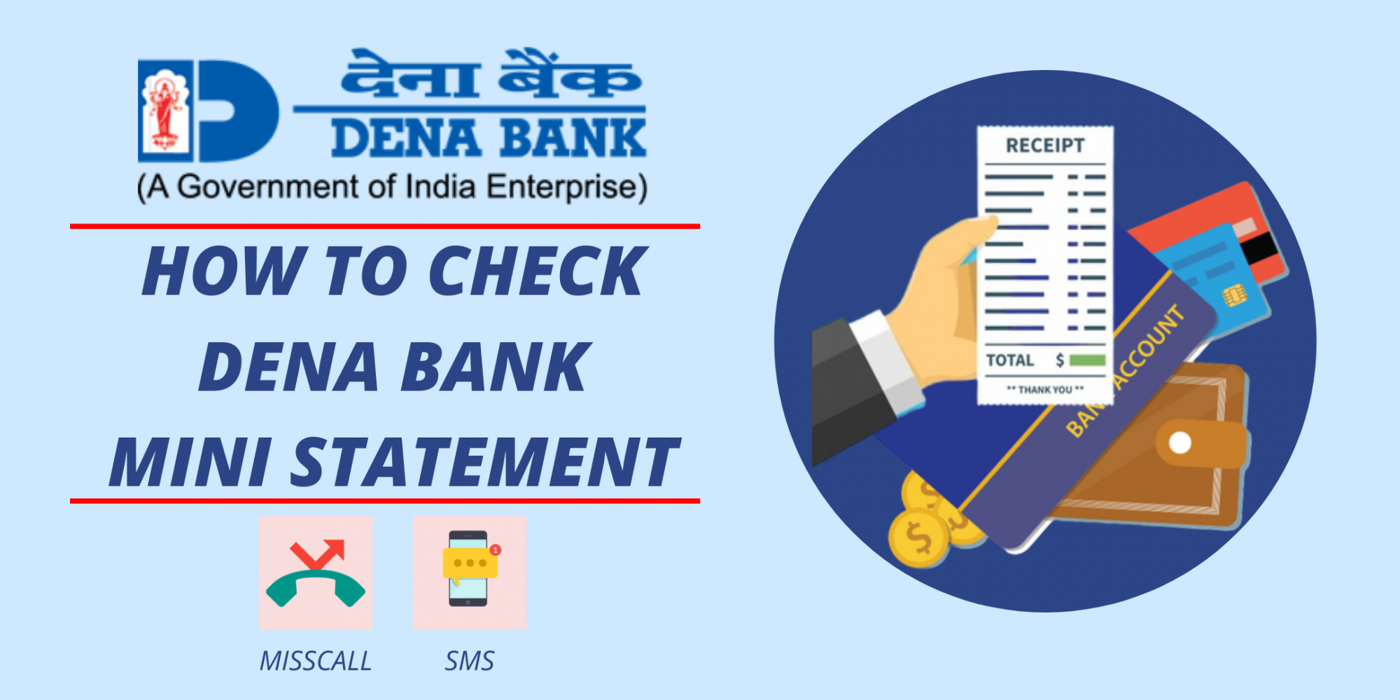 Dena Bank Mini Statement