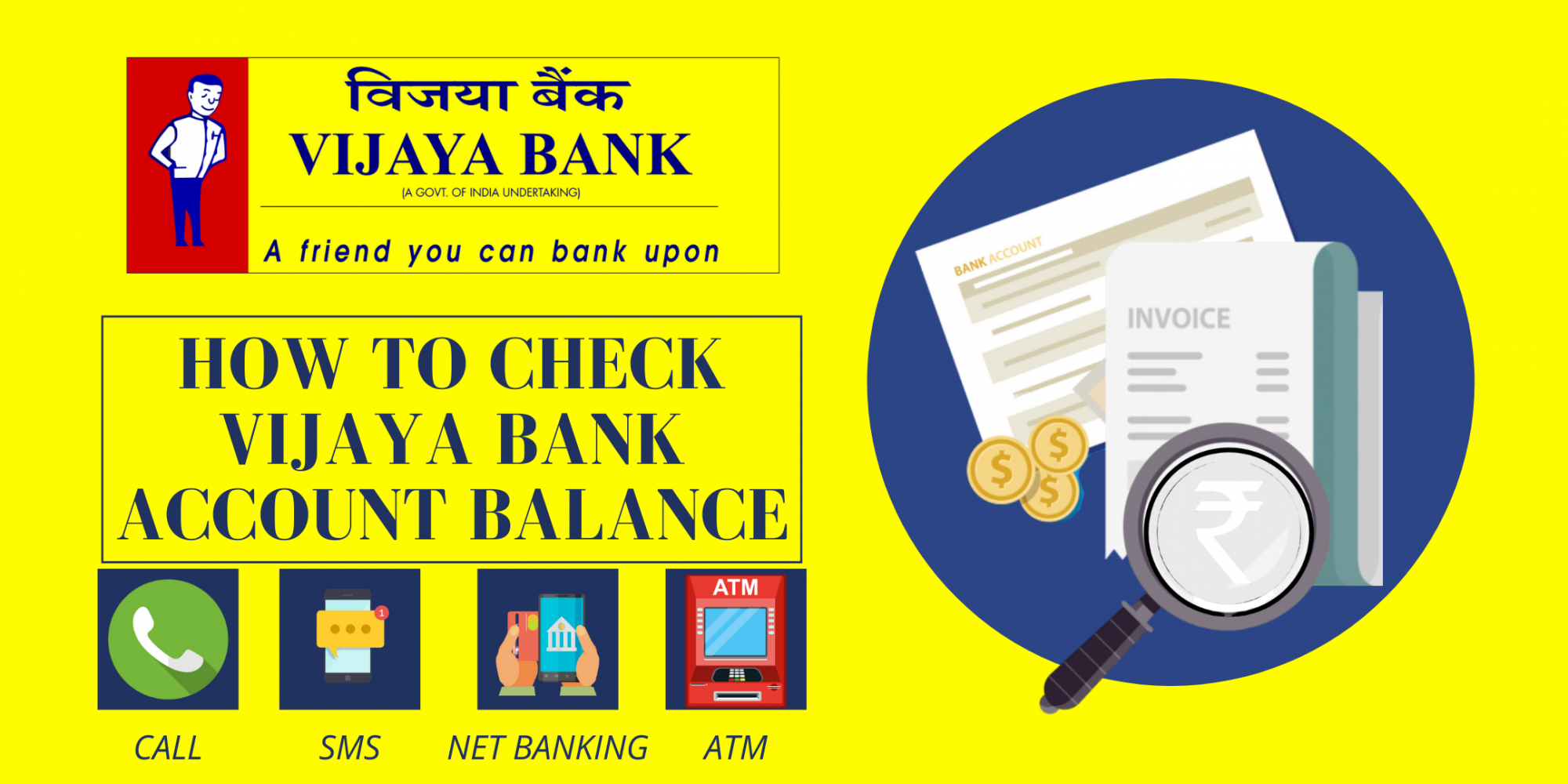 Check-Vijay-Bank-Account Balance