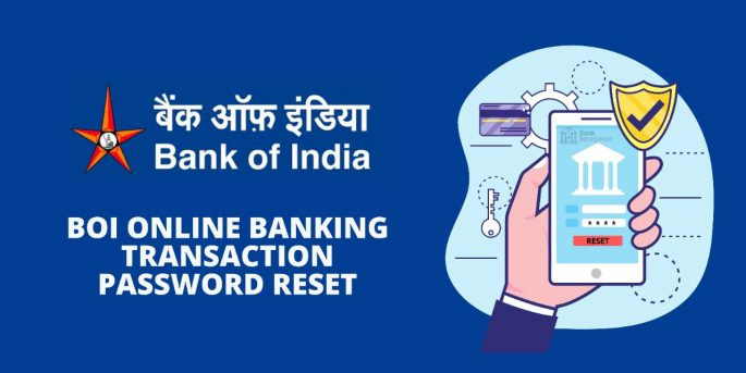 BOI Online Banking Transaction Password Reset
