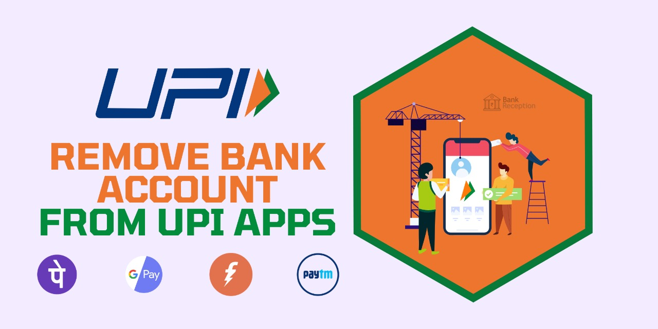 Remove Bank Account From UPI Apps
