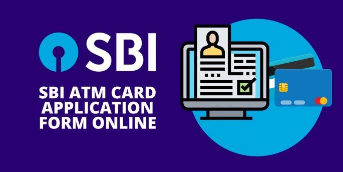 SBI ATM Card Application Form Online
