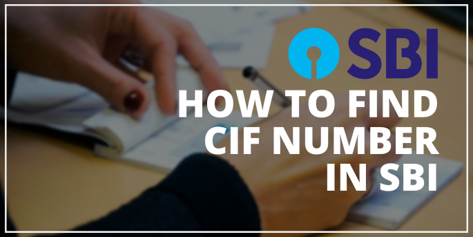 How to find CIF Number in SBI Bank